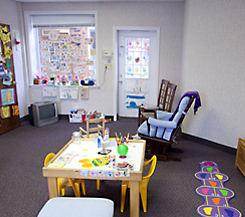 Retina Associates - Children's Playroom - Back of The Eye MD